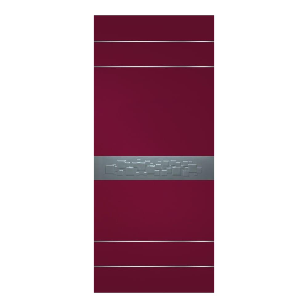 Bejngal bicolore ral 3005 con fascia centrale