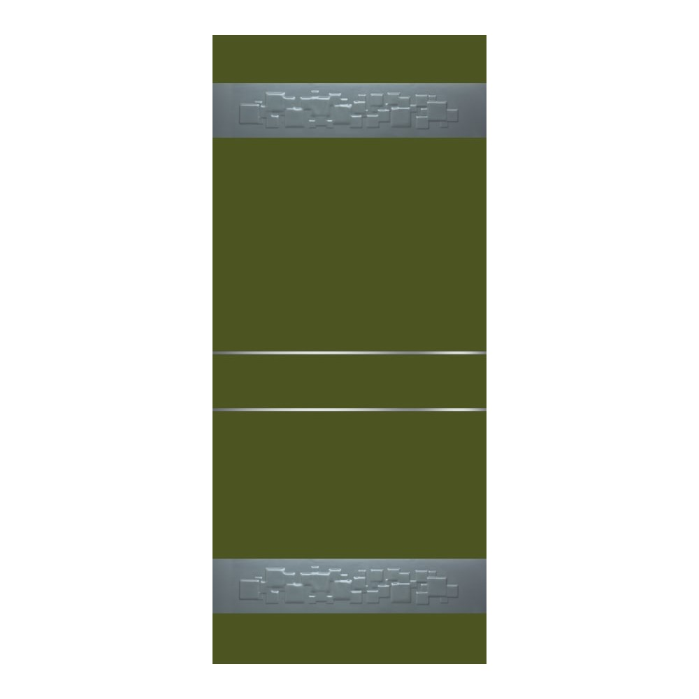 Bodingal bicolore ral 6011 con-fasce